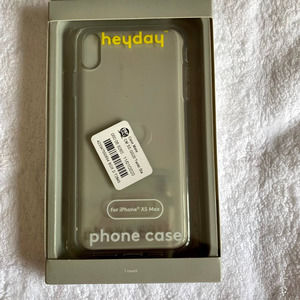 NWT Heyday Clear Iphone Xs Max Case